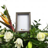 Coussin de fleur pour photo