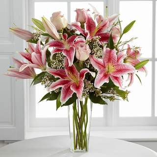 Bouquet de lys stargazer