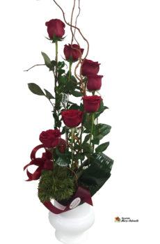 Arrangement de roses