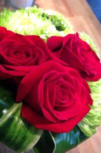 Bouquet de rose avec du «style» !
