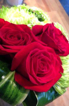 Bouquet de rose avec du « style » !