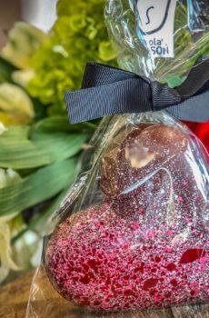 Coeur en chocolat (Gros)