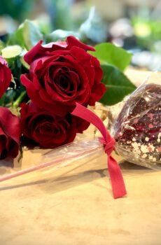 Suçon en forme de Coeur en chocolat