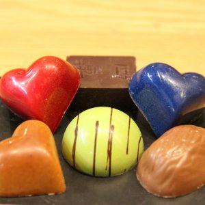 Paquet de 6 chocolat en boite