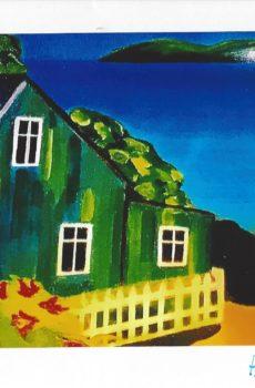 Carte personnalisée «La Maison verte»