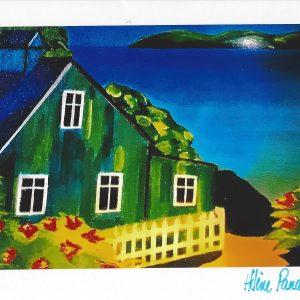 Carte personnalisée « La Maison verte »