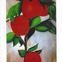 Carte personnalisée « Les Pommes »