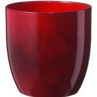Pot de céramique rouge 6po