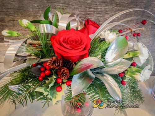 Centre de table de Noël