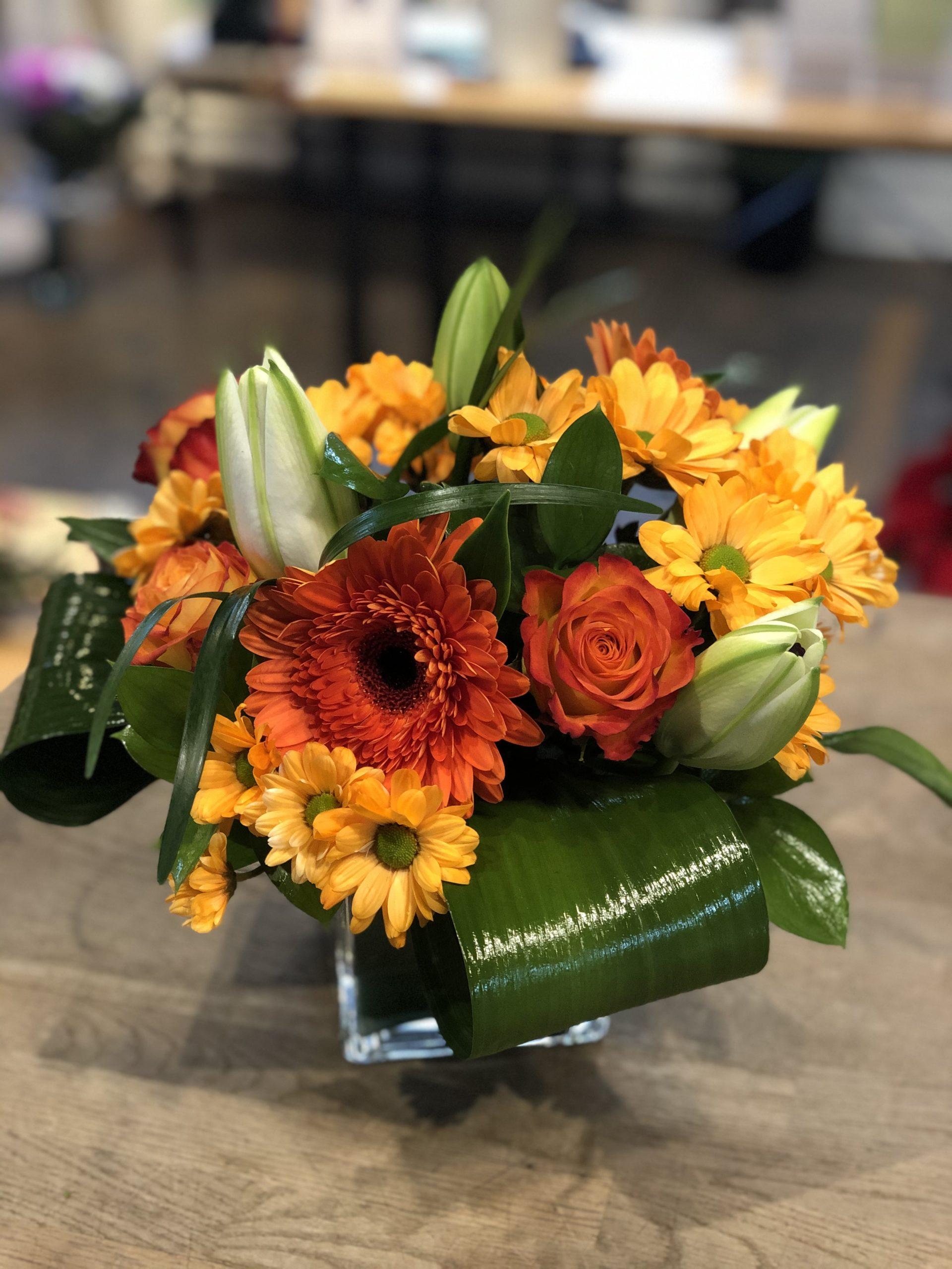 Bouquet Zeste d'orangé