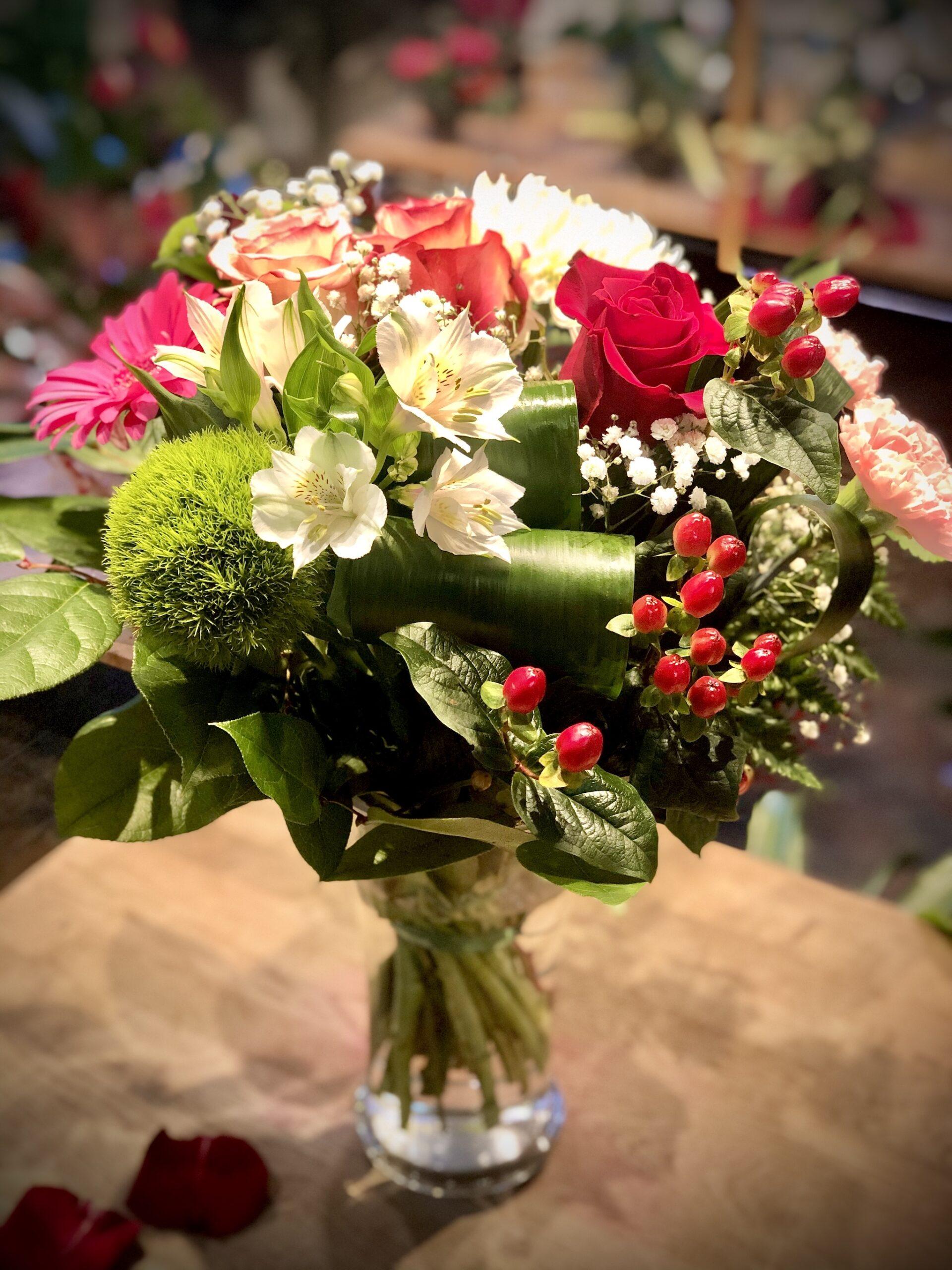Création du fleuriste